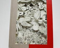 树叶雕刻图片作品欣赏及树叶雕刻的做法DIY手工图解教程